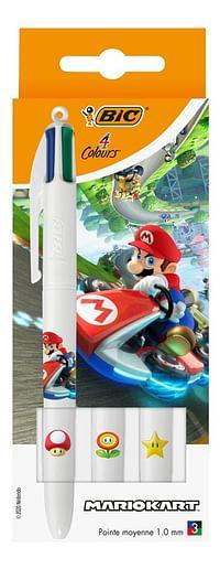 Bic vierkleurenbalpen Mario Kart - 3 stuks-BIC