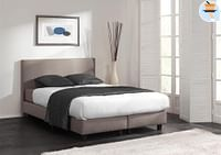 Dream Comfort Boxspring Be Positive 90 x 200 cm antraciet-Dream Comfort
