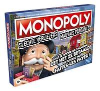 Monopoly Slechte verliezers-Hasbro