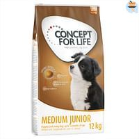 12kg Medium Junior Concept for Life Hondenvoer-For You