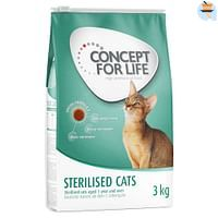 400g Sterilised Cats Concept for Life Kattenvoer-For You