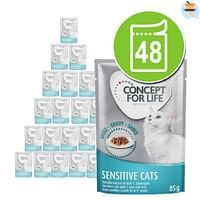 48x85g Kitten in Gelei Concept for Life Kattenvoer-For You