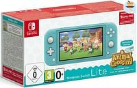Nintendo Switch Console Lite Turkoois + Animal Cro-Nintendo