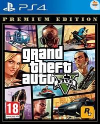 PS4 GTA V Premium Edition-Sony
