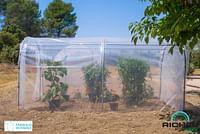 Voile d'ombrage serre Richel polyethylène transparant 6,50m-Garden Gourmet