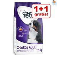 2x1,5kg Medium Light Concept for Life Hondenvoer-For You