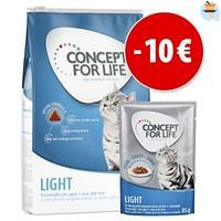 3kg Light Adult Concept for Life Kattenvoer-For You