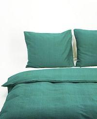 HEMA Dekbedovertrek - Zacht Katoen - Structuur Groen (groen)-Huismerk - Hema