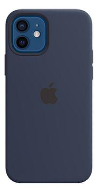 Apple siliconen cover voor iPhone 12/12 Pro Navy Blue-Apple