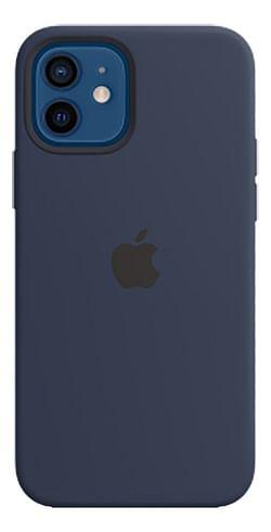 Apple siliconen cover voor iPhone 12/12 Pro Navy Blue