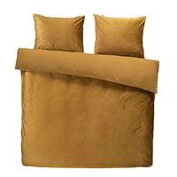 At Home by Beddinghouse dekbedovertrek Tender - goudkleur - 200x220/220 cm - Leen Bakker-At Home