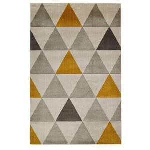 Floorita tapijt Roma - oker - 140x200 cm - Leen Bakker