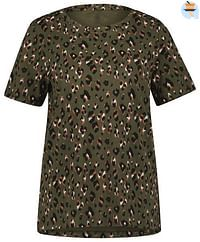 HEMA Dames T-shirt Animal Olijf (olijf)-Huismerk - Hema