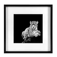 Fotolijst Goes - zwart - 30x30 cm - Leen Bakker-Huismerk - Leen Bakker