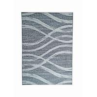 Tapijt Florence - grijs/wit - 200x290 cm - Leen Bakker-Huismerk - Leen Bakker
