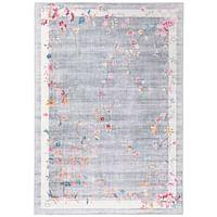 Tapijt Loah - grijs - 160x230 cm - Leen Bakker-Huismerk - Leen Bakker