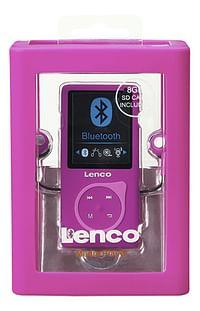 Lenco mp4-speler Bluetooth MP-208 8 GB roze-Lenco