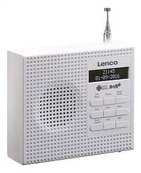 Lenco radio DAB+ PDR-020 wit-Lenco