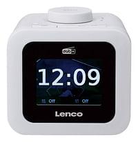 Lenco wekkerradio CR-620 DAB+/FM wit-Lenco