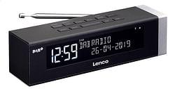 Lenco wekkerradio CR-630 zwart