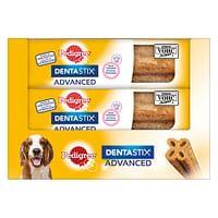 9x80g Dentastix Advanced voor middelgrote honden Pedigree Hondensnacks-Pedigree