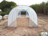 Richel stalen serre transparante folie 18m² 600x300x200cm-Richel
