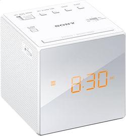 Sony wekkerradio ICF-C1 wit