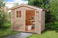 Weka tuinhuis 123 GR5 295x300cm-Weka