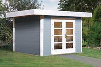 Weka tuinhuis 126 GR2 grijs 240x295cm-Weka