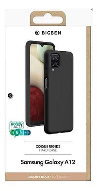 bigben cover Soft Touch voor Samsung Galaxy A12 zwart-BIGben
