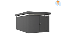 Biohort tuinhuis CasaNova 300x500cm donkergrijs metallic deur rechts-Biohort