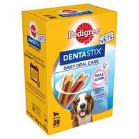 7 stuks Dentastix voor grote honden Pedigree hondensnacks-Pedigree