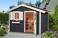 Weka tuinhuis 123 GR3 antraciet 205x300cm-Weka