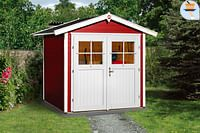 Weka tuinhuis 224 GR1 rood 205x209cm-Weka