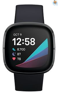 Fitbit smartband Sense Carbon-Fitbit