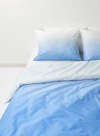 HEMA Dekbedovertrek - Zacht Katoen Blauw (blauw)-Huismerk - Hema