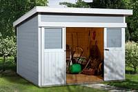 Weka tuinhuis 225 GR1 grijs 209x295cm-Weka