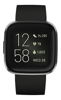 Fitbit Smartwatch Versa 2 carbon black-Fitbit
