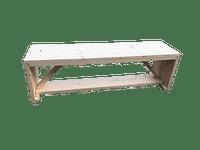 Wood4you tuinbank Nick vurenhout 160x43x38cm-Name-IT