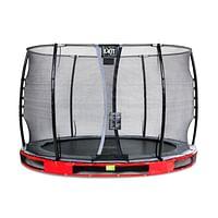 Exit in-ground trampoline Elegant met veiligheidsnet Economy ø305cm rood-Exit