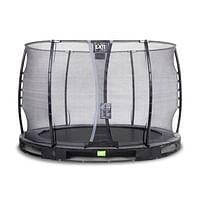 Exit in-ground trampoline Elegant met veiligheidsnet Economy ø305cm zwart-Exit