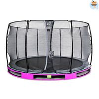 Exit in-ground trampoline Elegant met veiligheidsnet Economy ø366cm paars-Exit