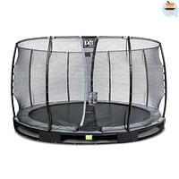 Exit in-ground trampoline Elegant met veiligheidsnet Economy ø366cm zwart-Exit