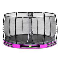 Exit in-ground trampoline Elegant Premium met veiligheidsnet Deluxe ø427cm paars-Exit