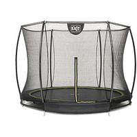 EXIT inbouw trampoline Silhouette Ground Ø244cm rond + veiligheidsnet-Exit