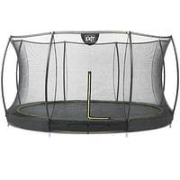 EXIT inbouw trampoline Silhouette Ground Ø427cm rond + veiligheidsnet-Exit