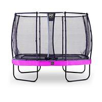 Exit trampoline Elegant Premium + veiligheidsnet Deluxe 214x366cm paars-Exit