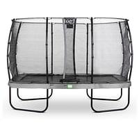 Exit trampoline Elegant + veiligheidsnet Economy 244x427cm grijs-Exit
