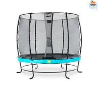 Exit trampoline Elegant + veiligheidsnet Economy ø253cm blauw-Exit