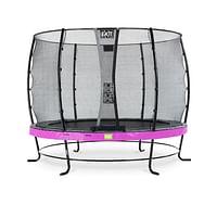 Exit trampoline Elegant + veiligheidsnet Economy ø305cm paars-Exit
